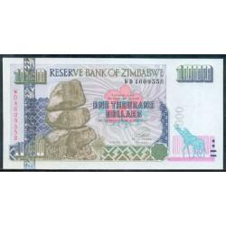 Zimbabwe 1.000 Dólares PK 12a (2.003) S/C
