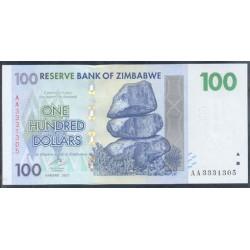 Zimbabwe 100 Dólares PK 69 (2.007) S/C