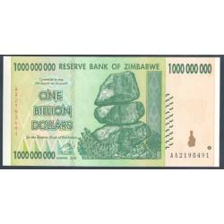 Zimbabwe 1 Billón de Dólares PK 83 (2.008) S/C