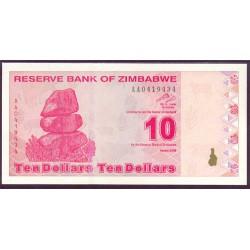 Zimbabwe 10 Dólares PK 94 (2.009) S/C