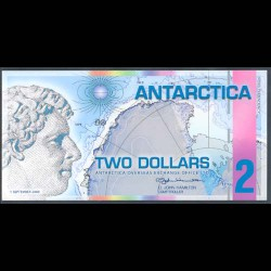 Antártica 2 Dólares (1-9-2.008) S/C