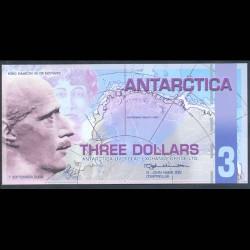 Antártica 3 Dólares (1-9-2.008) S/C