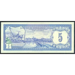 Antillas Holandesas 5 Gulden PK 15b (1-6-1.984) S/C