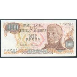 Argentina 1.000 Pesos PK 304d (1.976-83) S/C