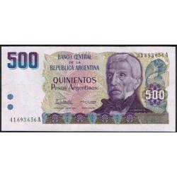 Argentina 500 Pesos PK 316 (1.984) S/C