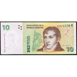 Argentina 10 Pesos PK 354 (2) (2.011) S/C