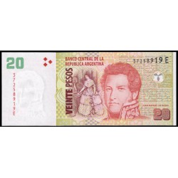 Argentina 20 Pesos PK 355 (2) (2.003) S/C