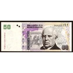 Argentina 50 Pesos PK 356 (2.012) S/C