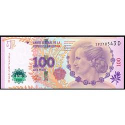 Argentina 100 Pesos PK Nuevo (358) (2.012). Eva Perón S/C