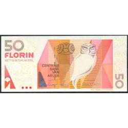 Aruba 50 Florines PK 18 (1-12-2.003) S/C