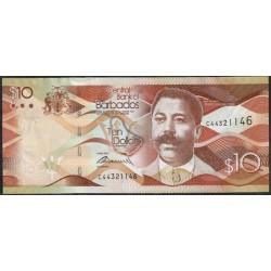 Barbados 10 Dólares PK 75 (2-5-2.013) S/C