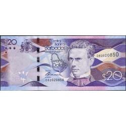 Barbados 20 Dólares PK 76 (2-5-2.013) S/C