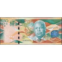 Barbados 50 Dólares PK 77 (2-5-2.013) S/C