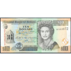 Belice 10 Dólares PK 68c (1-1-2.007) S/C
