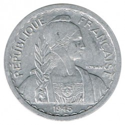 Indochina Francesa 1945 10 Céntimos S/C-