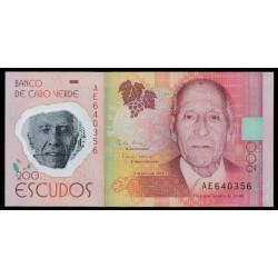 Cabo Verde 200 Escudos PK Nuevo (5-7-2.014) S/C