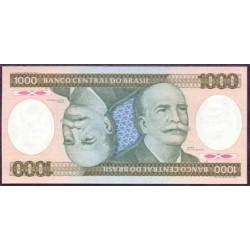 Brasil 1.000 Cruzeiros PK 201c (1.985) S/C