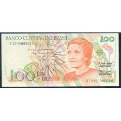 Brasil 100 Cruzeiros PK 228 (1.990) S/C