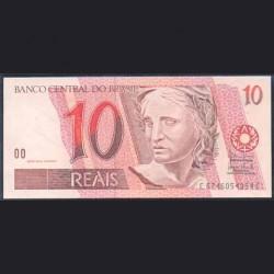 Brasil 10 Reais PK 245g (1997- ) S/C