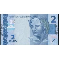 Brasil 2 Reales PK 252 (2.010) S/C
