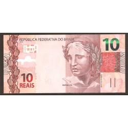 Brasil 10 Reais PK 254 (2.010) S/C