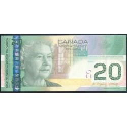 Canadá 20 Dólares PK 103 (2.005) S/C