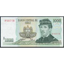 Chile 1.000 Pesos PK 154g (2.008) S/C