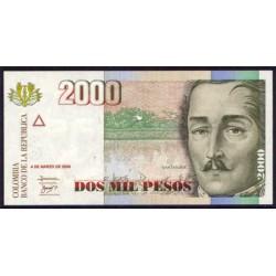 Colombia 2000 Pesos PK 451j (4-3-2.005) S/C