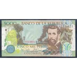 Colombia 5.000 Pesos PK 452 (20-2-2.004) S/C
