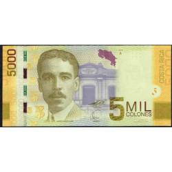Costa Rica 5.000 Colones PK 276 (2-9-2.009) S/C
