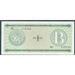 Cuba 1 Peso PK FX 6 (1.985) S/C