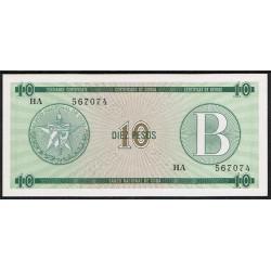 Cuba 10 Pesos PK FX 8 (1.985) S/C