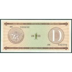 Cuba 1 Peso PK FX 32 S/C