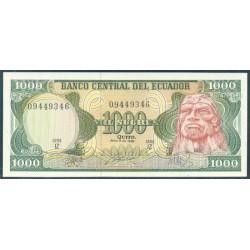 Ecuador 1.000 Sucres PK 125b (8-6-1.988) S/C