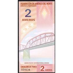 Federación América del Norte 2 Ameros (2.011) S/C