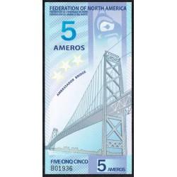 Federación América del Norte 5 Ameros (2.011) S/C