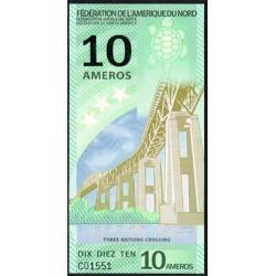 Federación América del Norte 10 Ameros (2.011) S/C