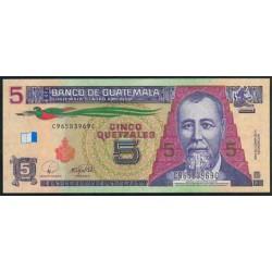 Guatemala 5 Quetzales PK 116 (12-3-2.008) S/C