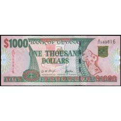 Guyana 1.000 Dólares PK 35 (2.000) S/C