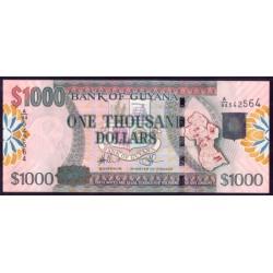 Guyana 1.000 Dólares PK 38 (2.006) S/C