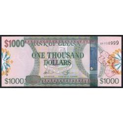 Guyana 1.000 Dólares PK Nuevo (2.011) S/C