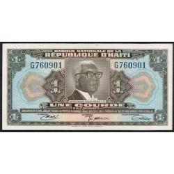 Haiti 1 Gourde PK 200 (Convenc. 1.919) S/C