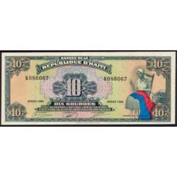 Haiti 10 Gourdes PK 247 (1.988) S/C