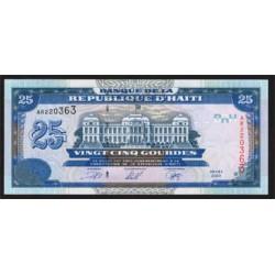 Haiti 25 Gourdes PK 266a (2.000) S/C