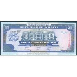 Haiti 25 Gourdes PK 266c (2.006) S/C