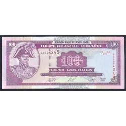 Haiti 100 Gourdes PK 268 (2.000) S/C