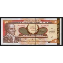Haiti 20 Gourdes PK 271 (2.001) S/C