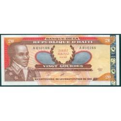 Haiti 20 Gourdes PK 271A (2.001) S/C