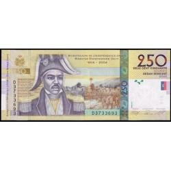 Haiti 250 Gourdes PK 276d (2.010) S/C