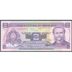 Honduras 2 Lempiras PK 61 (23-9-1.976) S/C
